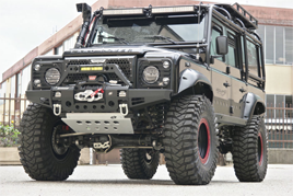 Pare choc modulable Land Rover Defender