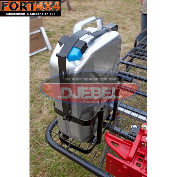Jerrican Carburant Et Support Jerrican Fort 4x4 Accessoires