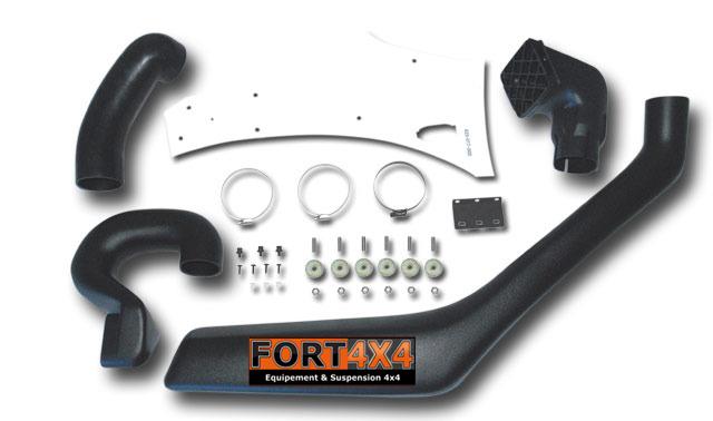 snorkel avec kit d 39 installation pour 4x4 nissan fort 4x4 accessoires quipements suspensions 4x4. Black Bedroom Furniture Sets. Home Design Ideas