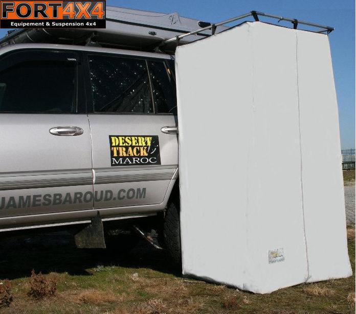 Douche et cuisine au bivouac fort 4x4 accessoires quipements suspensions 4x4 - Cabine de douche camping ...