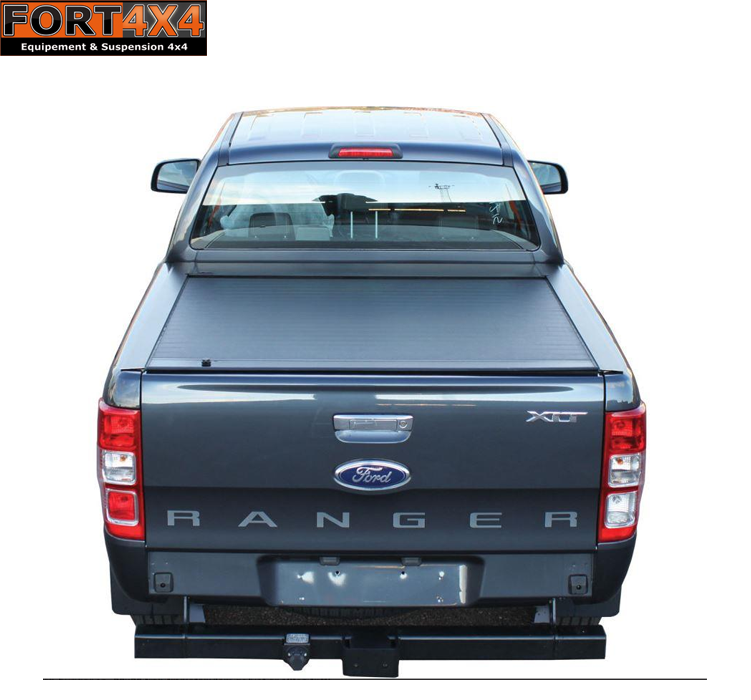 couvre benne coulissant roll top cover ford ranger 2016 fort 4x4 accessoires quipements. Black Bedroom Furniture Sets. Home Design Ideas