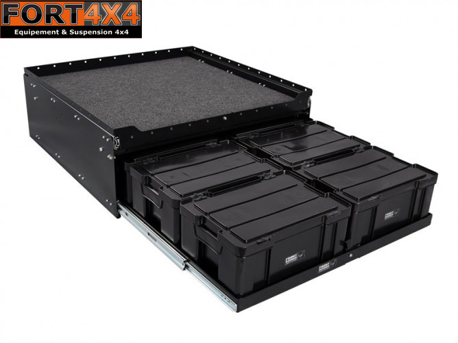 amenagement de coffre 4x4 fort 4x4 accessoires quipements suspensions 4x4. Black Bedroom Furniture Sets. Home Design Ideas