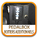 OPTIMISATION MOTEUR PEDALBOX BOITIERS ADDITIONNELS